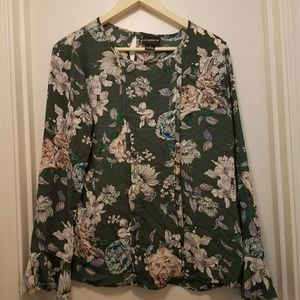 Liz Claiborne Long Sleeve Blouse